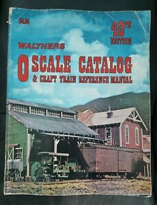 1980 WALTHERS 40th Edition O Scale Catalog & Craft Train Reference Manual