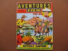 ARTIMA  :  AVENTURES-FILM n° 36 (1955) Difficile capture
