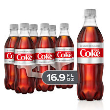 (2 pack) Diet Coke Soda Soft Drink, 16.9 fl oz, 6 Pack