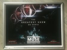 Muse The Greatest Show On Earth Original Quad Cinema Poster.