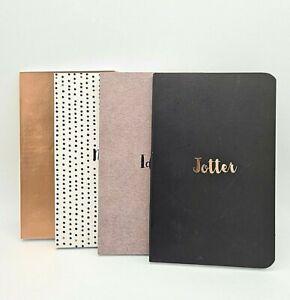 Writey Ho Stylish Pocket Hardback Journals Notebook Notepad 4 Available Designs
