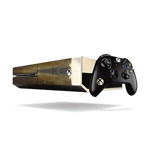 Xbox One Metallic Vinyl Wrap: Chrome Gold / Xbox One Skin Sticker Cover with ...