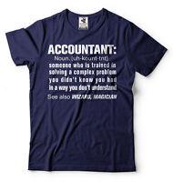 Accountant CPA Tee Shirt Funny T-shirt Birthday Gift Tee Shirt T-shirt