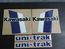 1982 KAWASAKI KX 125 GAS TANK AND SWINGARM  DECAL KIT  VINTAGE MOTOCROSS