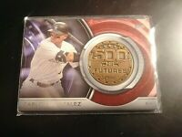2016 Topps Update 500 HR Futures Club Commemorative Medallion CARLOS GONZALEZ 13