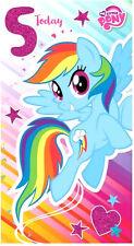 My Little Pony Age 5 Birthday Card MP012