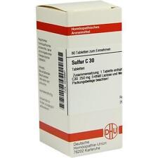 SULFUR C 30 Tabletten 80St PZN: 4238997