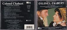 CD COLONEL CHABERT BO FILM DEPARDIEU 9T 1994 RARE BEETHOVEN/MOZART/SCHUBERT