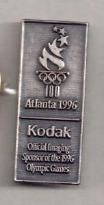 1996 Kodak Atlanta Olympic Pin Official Imaging Sponsor Silver