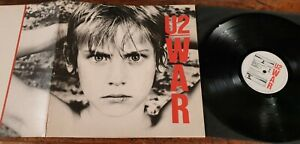 U2 - WAR 1983 Vinil original UK made in Great Britain