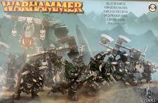 Warhammer Fantasy - Orks & Goblins - 8x Schwarzorks / Black Orcs - Gussrahmen