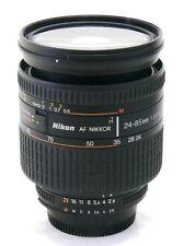 Nikon 24-85 mm f/2.8-4 Zoom Af IF Asférica D Nikkor Lente Menta -