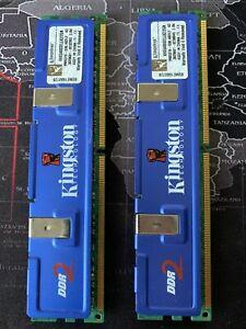Kingston KHX6400D2LLK2/2G (2 x 2 GB, PC2-6400 (DDR2-800), DDR2 RAM, 800 MHz) 4Gb