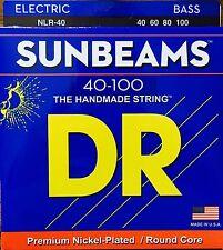 DR NLR-40 BASS Guitar Strings 40-100 SunBeams lite gauge