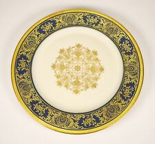 Rosenthal Dinner Plate Porcelain Fine China Cobalt Blue Gold White Selb-Germany