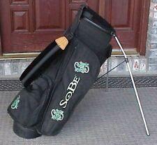 Ping Golf Lightweight Hoofer Stand Bag *SoBe* Black 4-Way Dual Strap ** RARE **