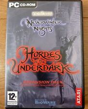 Neverwinter Nights Hordes of the Underdark Expansion Pack for PC CD Rom