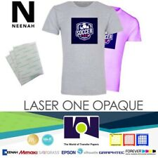 Heat Transfer Paper Laser 1 Opaque Dark Shirt Heat Press Machine 85x11 50 Sh
