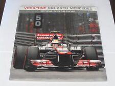Official Vodafone McLaren Mercedes 2013 Calendar Jenson Button Lewis Hamilton