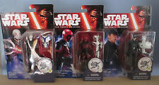 Star Wars The Force Awakens: Hux Inquisitor Guavian figures (Hasbro) NOC