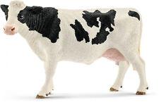P10) Schleich (13797) Fleckvieh-Kuh Schwarzbunt Schleichtiere Schleichtier kuh