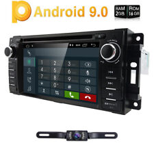 For Jeep Wrangler 2007-2016 Android 9.0 Car DVD GPS Head Unit Stereo Radio WiFi