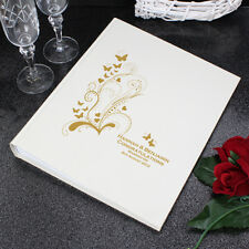 Personalised Gold Butterfly Swirl Traditional Album | Cellini Albums  # 1