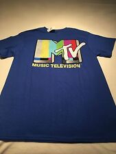 M Tv Music Television T Shirt Size Large Nwt