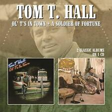Tom T. Hall - Ol' T's In Town / A Soldier Of Fortune (NEW CD)