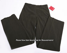 NWT NEW FOCUS 2000 Women's DRESS PANTS Size 4 Classic Fit Green