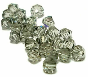 25pcs 5mm Swarovski Crystal Faceted Bicone Beads - You Choose The Color