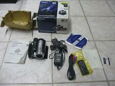 Sony HandyCam HDR-SR10 FULL HD 40 GB HDD Hybrid Camcorder Nightshot AVCHD + Dock