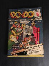 DO-DO COMICS #1  NATIONWIDE 1950  5.5 FN-