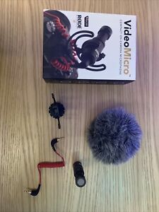 Rode VideoMicro Microphone Caméra Compact, Couleur Assortie