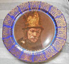 Limoges Porcelain Plate - Rembrandt 'Man with Golden Helmet'