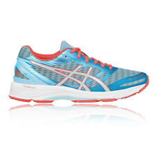 Asics Gel DS Trainer 22 Womens Red Blue Support Running Sports Shoes Trainers