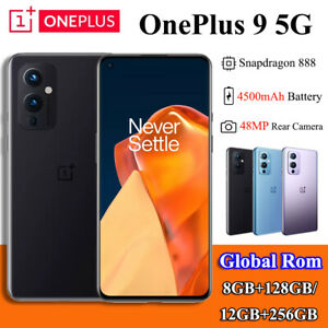 Global Rom 6.55'' OnePlus 9 5G Smartphone Snapdragon 888 128GB/ 256GB Android 11