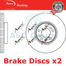 2 X Apec BRAKING 332mm Belüftet OE Qualität Ersatzteil Bremsscheiben ( Paar