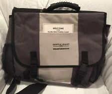 Gentle Giant Logo Messenger Bag (2007 PGM Exclusive) Limited Edition, NEW