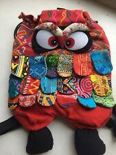 Owl Multicoloured rucksack