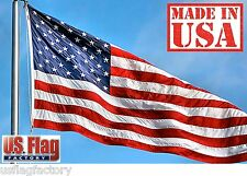 Us Flag Factory 6x10' Us American Flag Outdoor SolarMax Nylon Flag 6x10 Foot