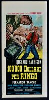 L127 Plakat 100.000 Dollar für Ringo 1965 Richard Harrison, Fernando Sancho