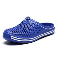 Unisex Men Clogs Mules Slippers Garden Summer Beach Sandals Sole Shoes Outdoor