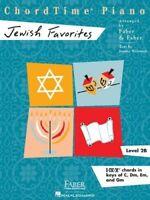 Chordtime Piano Jewish Favorites, Level 2B: I-iv-v Chords in Keys of C, Dm, Em,
