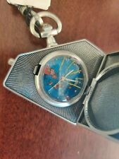 Superman Pocket Watch Manufactured by Fossil for DC Direct 2001
