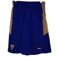 Nike Kobe Bryant Mens Shield Basketball Shorts Large Purple Gold Lakers Large