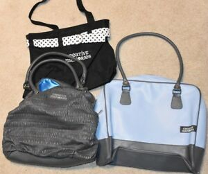 Creative Memories Lot of 3 Purses and Tote Bags. Great for scrapbooking