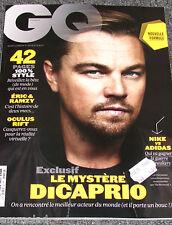 Rare Brand New GQ France French Mens Magazine Mar 2016 Leonardo DiCaprio Oscars