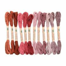 12 Valdani 6 Strand Floss Embroidery Thread As Time Goes By Set 1 10 Yard Skeins