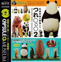 Capsule Q Museum Kunio Sato's Animals 〇〇〇 2 All 5 Types Set Full Comp 320y